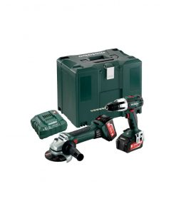 Metabo 18 Volt Combo Set Μπαταρίας 2.4.2 18 V SB 18 LT & W 18 LTX 125 Quick